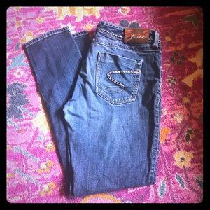 Seven 7 size 14 32 waist soft skinny jeans guc